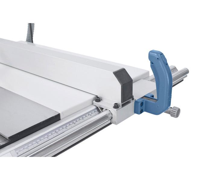Solidny aluminiowy ogranicznik wzdłużny z precyzyjną regulacją, system szybkozaciskowy i lupa. - 1288 - zdjęcie 6