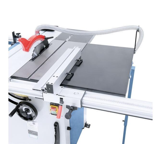 Z przesuwnym ogranicznikiem wzdłużnym i systemem szybkoza-ciskowym oraz rozszerzeniem stołu do 690 mm - 1292 - zdjęcie 5