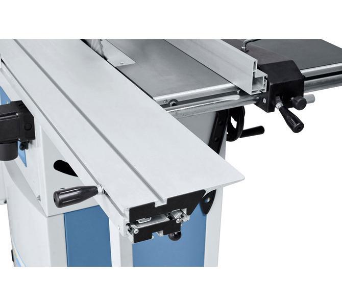 Wysoki komfort obsługi dzięki dostępnemu w wyposażeniu standardowym stołowi formatowemu z anodyzowan... 1295 - zdjęcie 5