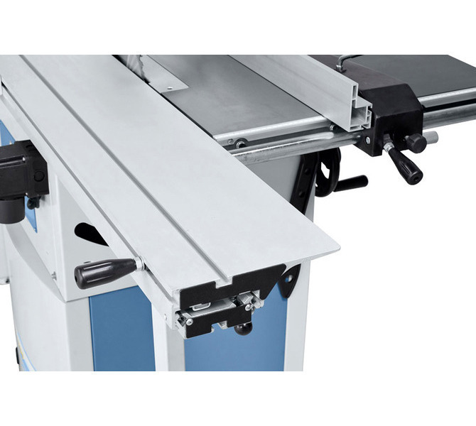 Wysoki komfort obsługi dzięki dostępnemu w wyposażeniu standardowym stołowi formatowemu z anodyzowan... 1297 - zdjęcie 4