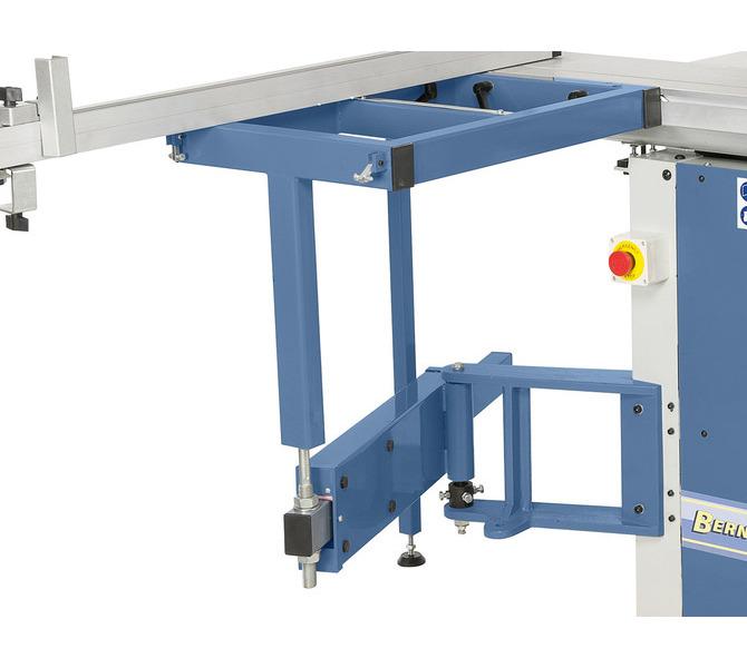 Swobodnie poruszający się stół wysięgnikowy dodatkowo podparty jest ramieniem wychylnym, przez co mo... 1300 - zdjęcie 7