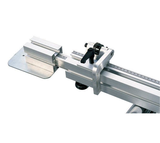 Wyciągany ogranicznik teleskopowy (do 2260 mm) z precyzyjnie regulowaną klapą oporową. - 1303 - zdjęcie 2