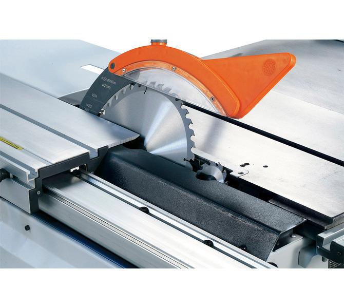 Wychylny pod kątem 45° agregat pilarski można ustawić za pomocą koła ręcznego na wysokość cięci... 1305 - zdjęcie 5