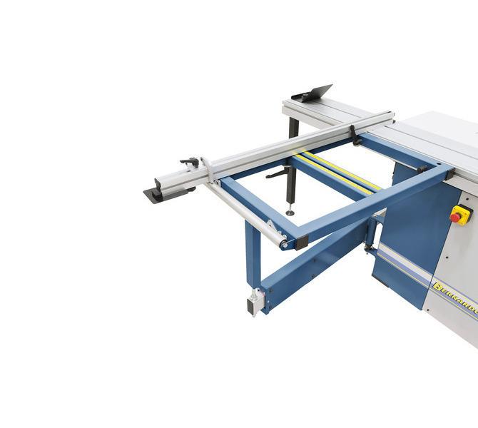 Stół wysięgnikowy z rolką pomaga w obróbce dużych przedmiotów.  - 1320 - zdjęcie 4