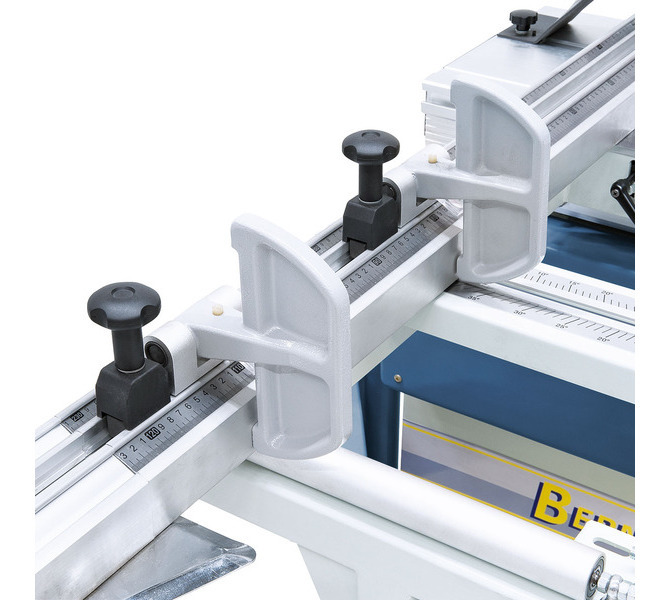 Używana dwustronnie wzdłużna klapa oporowa do precyzyjnego ustawiania szerokości cięcia w ograniczni... 1325 - zdjęcie 7