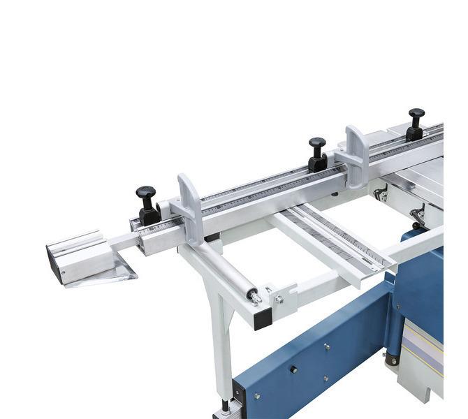 Stół wysięgnikowy można przesuwać na całej długości sań i zdejmować w dowolnym położeniu. Pre... 1325 - zdjęcie 6