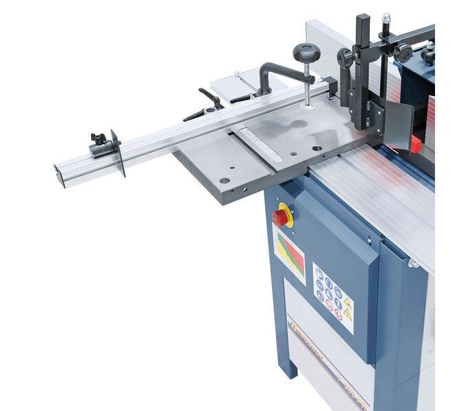 W wyposażeniu standardowym precyzyjnie wykończony i równy stół rolkowy z żeliwa szarego - 1337 - zdjęcie 4