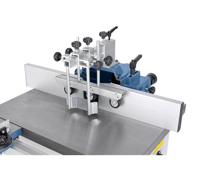 Kopuła ochronna frezarki jest wyposażona w anodyzowane aluminiowe szyny oporowe. - 1339 - zdjęcie 5