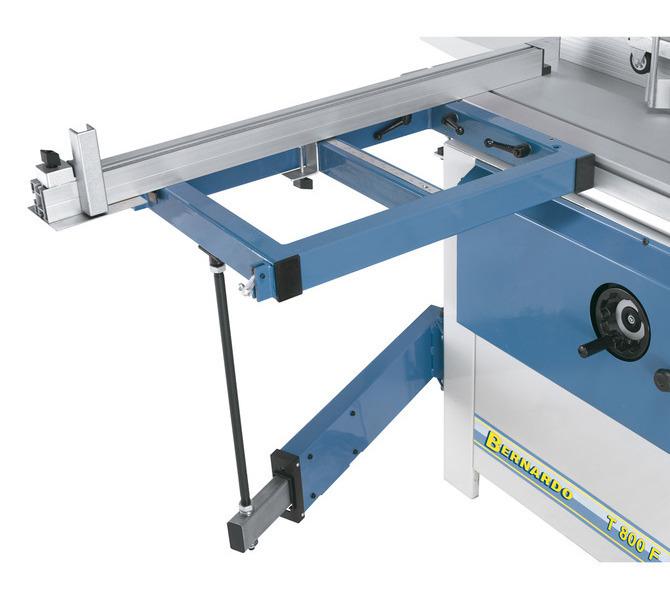 Aluminiowy liniał ograniczający można zainstalować zarówno z przodu, jak i z tyłu na stole wysięgn... 1346 - zdjęcie 3
