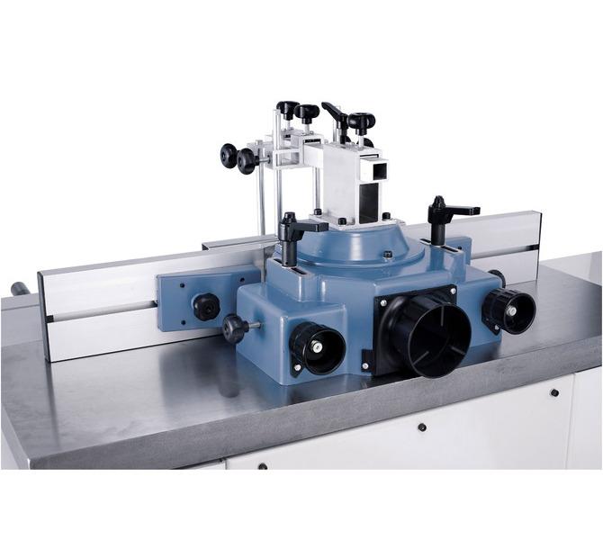 Aluminiowe szyny ograniczające można szybko i łatwo nastawić na wykorzystywane narzędzie frezarskie,... 1346 - zdjęcie 6