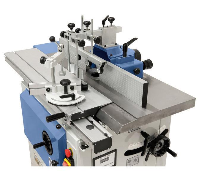 Dostępny w wyposażeniu standardowym stół formatowy ułatwia obróbkę większych przedmiotów. - 1347 - zdjęcie 5
