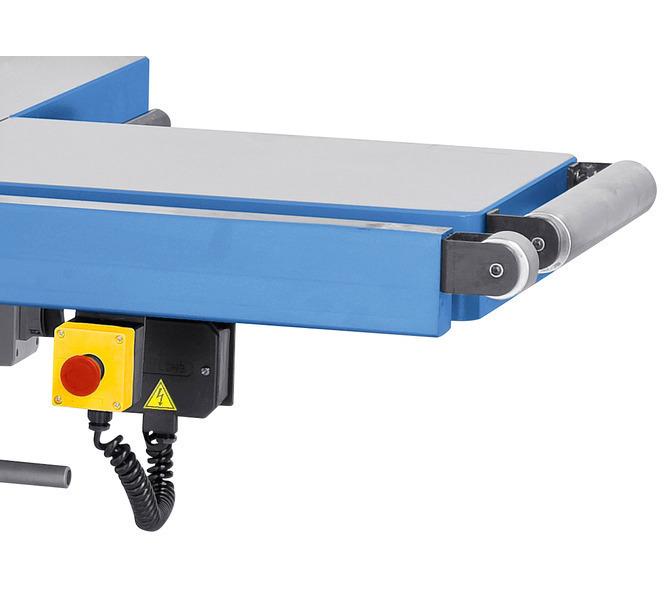 Rolka przesuwna oraz przedłużenie stołu umożliwiają łatwiejszą obróbkę dużych elementów - 1353 - zdjęcie 9