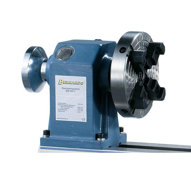 Do mocowania asymetrycznych przedmiotów obrabianych można dołączyć do maszyny 4-szczękowy uchwyt to... 1373 - zdjęcie 4