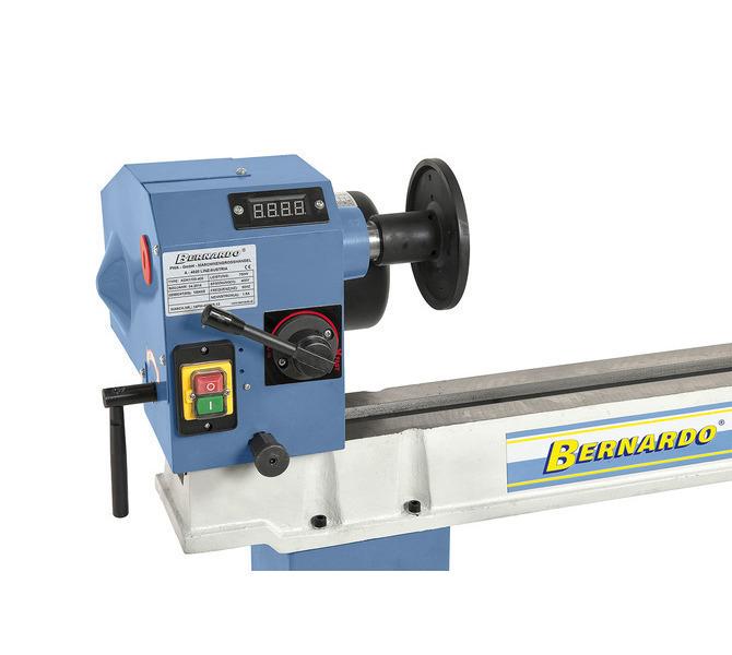 Maszyna może być wyposażona w elektroniczny wskaźnik prędkości obrotowej do optymalnego ustawiania ... 1380 - zdjęcie 4