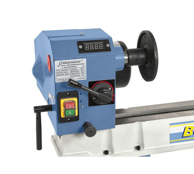Maszyna może być wyposażona w elektroniczny wskaźnik prędkości obrotowej do optymalnego ustawiania ... 1383 - zdjęcie 5