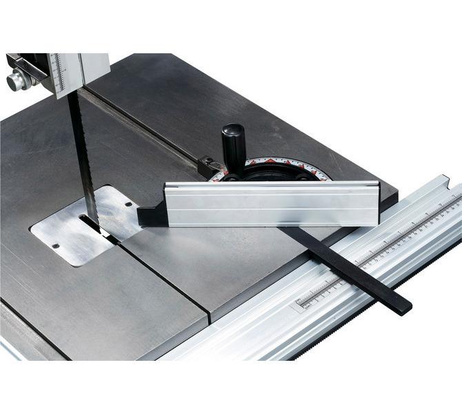 Duży stół piły ze szlifowaną powierzchnią i rowkiem teowym do mocowania ogranicznika skosu (standar... 1404 - zdjęcie 4