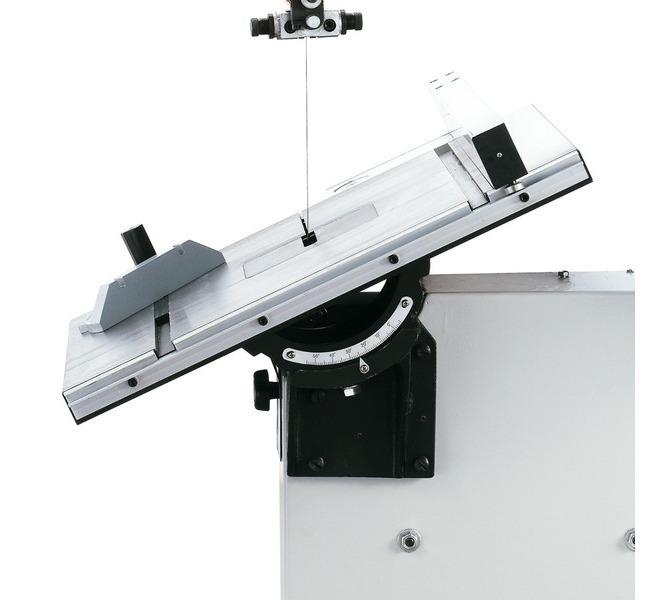 Stół roboczy wychylny w zakresie od 0° do 45°, żądane ustawienie odczytywane na podziałce - 1410 - zdjęcie 7