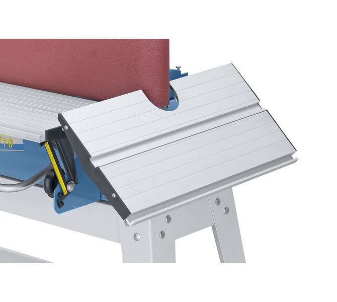 Dodatkowy stół do szlifowania konturów, wychylny w zakresie do 45°. - 1418 - zdjęcie 3
