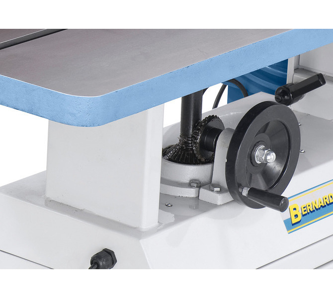 Ergonomicznie umiejscowione koło ręczne z przodu maszyny do regulacji wysokości stołu roboczego - 1419 - zdjęcie 5