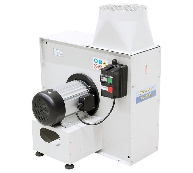 Wentylator promieniowy RV 4000 BERNARDO - 1469 - zdjęcie 1