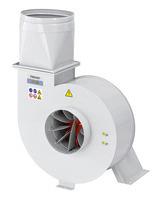 Ilustracja z opcjonalnym adapterem prostokątnym / okrągłym o śr. 300 mm