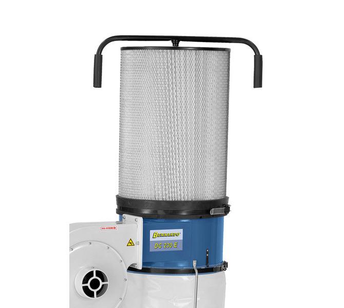 Wkład mikrofiltracyjny (opcja) zwiększa moc ssania dzięki większej powierzchni filtra - 1484 - zdjęcie 7