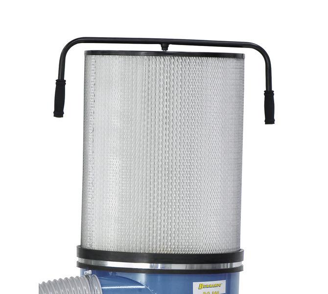 Wkład mikrofiltracyjny (opcja) zwiększa moc ssania dzięki większej powierzchni filtra - 1488 - zdjęcie 3
