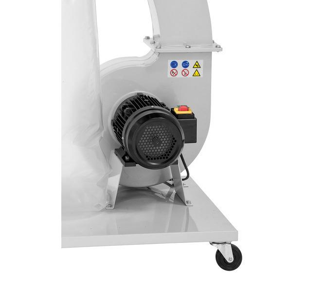 Silnik napędowy odużejmocy ze stalowym kołem wentylatora - 1500 - zdjęcie 3