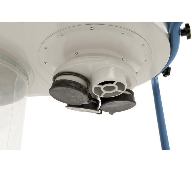 Oferowany w wyposażeniu standard- owym rozgałęźnik posiada cztery przyłącza o średnicy 100 mm - 1509 - zdjęcie 4