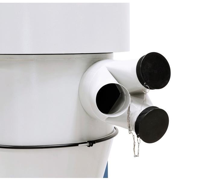 Adapter w zestawie  wyposażony w trzy  przyłącza (średn. 100 mm) - 1513 - zdjęcie 6