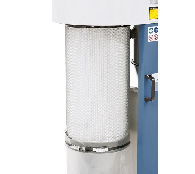 W zestawie wkład filtracyjny ze szczotkami usuwającymi drobne cząstki pyłu. - 1513 - zdjęcie 8