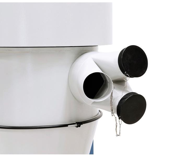 Adapter w zestawie  wyposażony w trzy  przyłącza (średn. 100 mm) - 1514 - zdjęcie 7