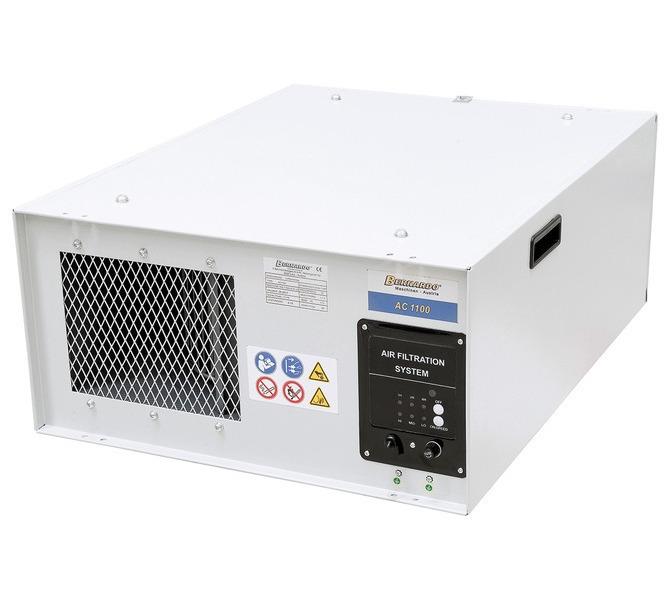 Filtr powietrza, urządzenie odpylające - oczyszczające AC 1100 BERNARDO - 1515 - zdjęcie 1
