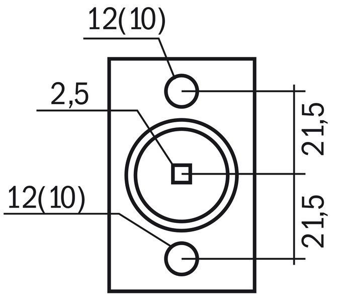 Głowica 43 mm BERNARDO - 1531 - zdjęcie 7