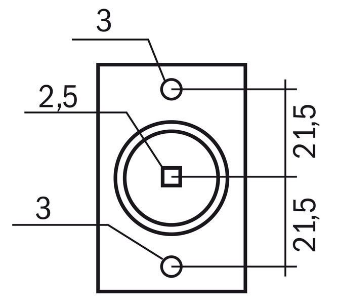 Głowica 43 mm BERNARDO - 1531 - zdjęcie 9