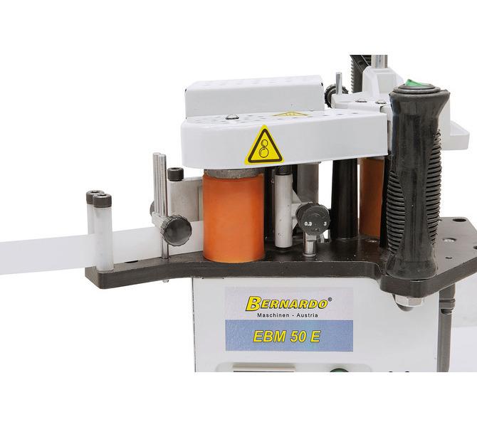 Nastawiany system prowadnic pozwala  na stosowanie grubości krawędzi od 0,3 – 3,0 mm i wysokości kra... 1563 - zdjęcie 7
