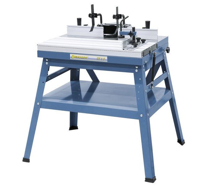 Stół do frezarki górnowrzecionowej RT 3 F BERNARDO - 1610 - zdjęcie 1
