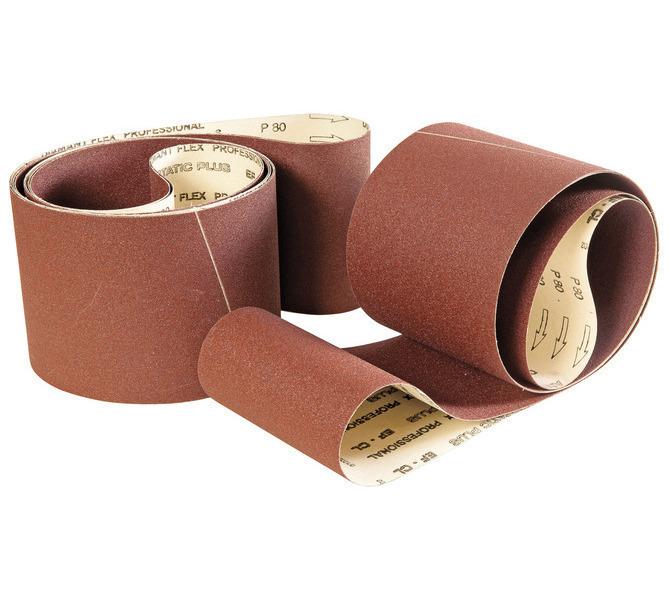 Papier taśma szlifierska 2600 x 150 mm - G 60 / 80 / 100 / 120 / 150 / 180 / 220 ( każdej po 2 szt. ) B... 3021 - zdjęcie 1