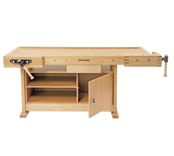 Stół ślusarski, stolarski, warsztatowy, uniwersalny WB 2100 Profi BERNARDO - 3293 - zdjęcie 3