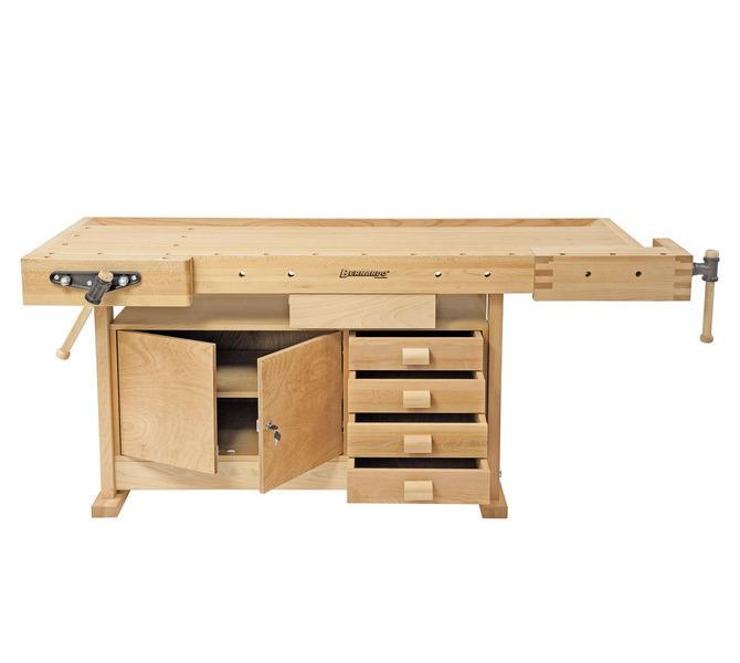 Stół ślusarski, stolarski, warsztatowy, uniwersalny WB 2100 Profi BERNARDO - 3293 - zdjęcie 5