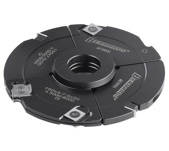 Frez tarczowy 160 x 12 - 24 x 30 mm z pośrednim pierścieniem, regulowany BERNARDO - 3438 - zdjęcie 1