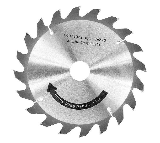 Tarcza tnąca 250 x 3,0 x 30 mm, Z40 BERNARDO - 3469 - zdjęcie 1