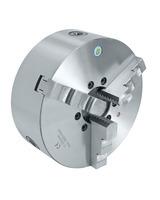 Uchwyt tokarski 3-szczękowy, precyzyjny, żeliwny, DK11-80 DIN 6350 BERNARDO