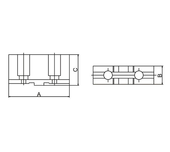 Szczęki górne miękkie - komplet DSTJ-DK12-160 BERNARDO - 3596 - zdjęcie 2