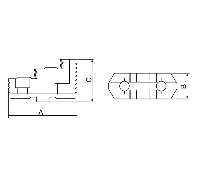 Szczęki górne twarde - komplet DTJ-DK12-125 BERNARDO - 3627 - zdjęcie 2