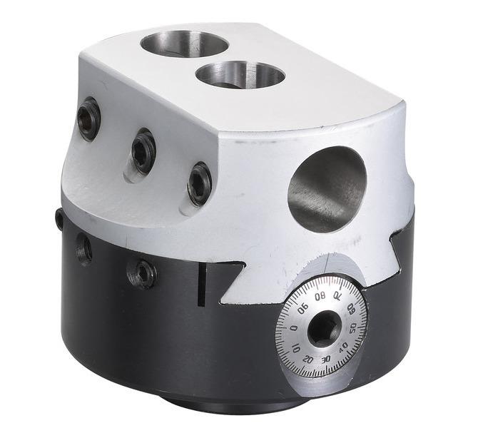 Głowica do gwintowania i precyzyjnego wiercenia rozmiar 100 mm BERNARDO - 4189 - zdjęcie 1