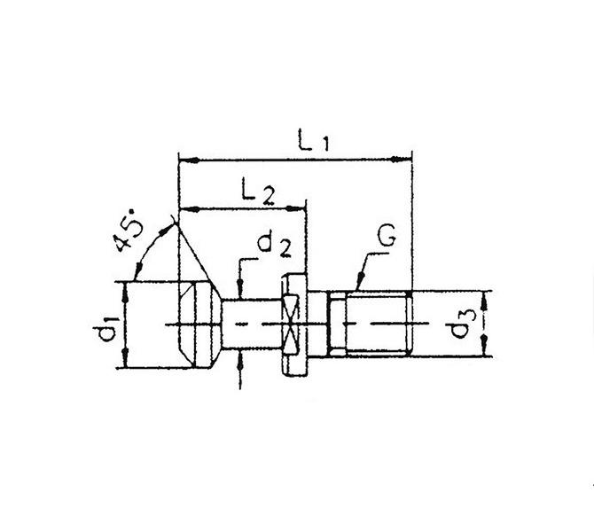 Adapter uchwytu wyciągany MAS-BT 40 BERNARDO - 4250 - zdjęcie 1