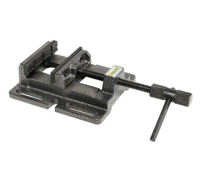Imadło wiertarskie maszynowe BM 100 ze szczękami pryzmowymi BERNARDO - 4334 - zdjęcie 1