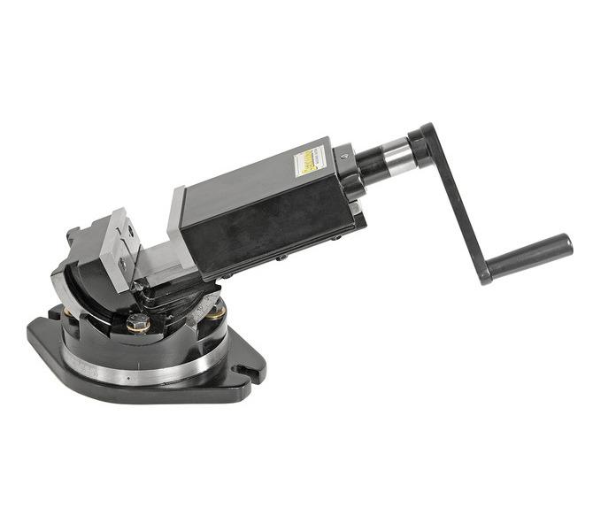 Dwuosiowe imadło maszynowe śrubowe precyzyjne PTS 100 BERNARDO - 4362 - zdjęcie 1