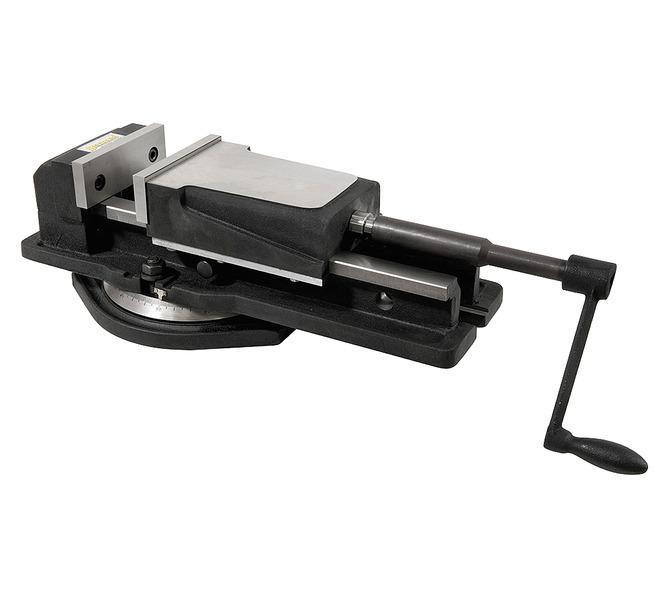Imadło maszynowe śrubowe z szerokim mocowaniem FJ 150 BERNARDO - 4391 - zdjęcie 1